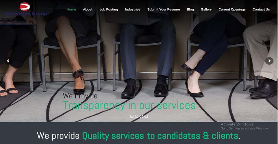 dimension Corporate services
