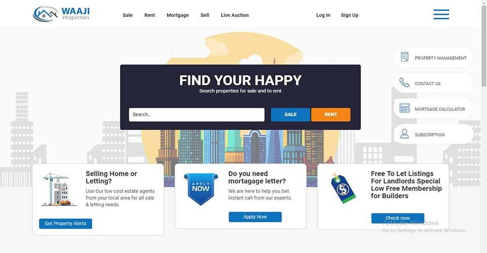 Property website designing Company in Delhi